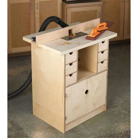 woodwork router table router table and organizer woodworking plan from wood magazine