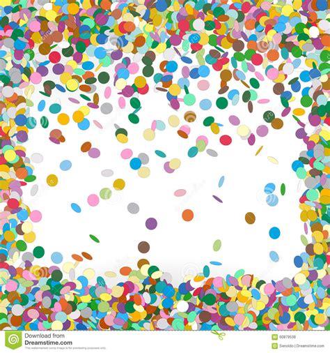 Muster Einladung Fasching Bunte Vektor Konfetti Hintergrund Schablone Vektor Abbildung Bild 60879538
