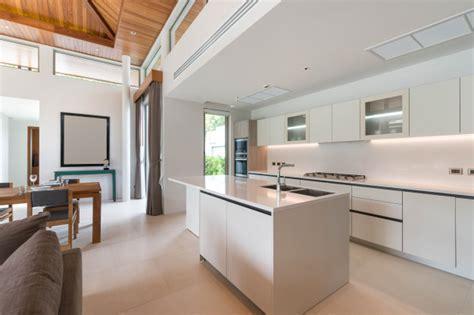 luxury interior design  kitchen area  feature