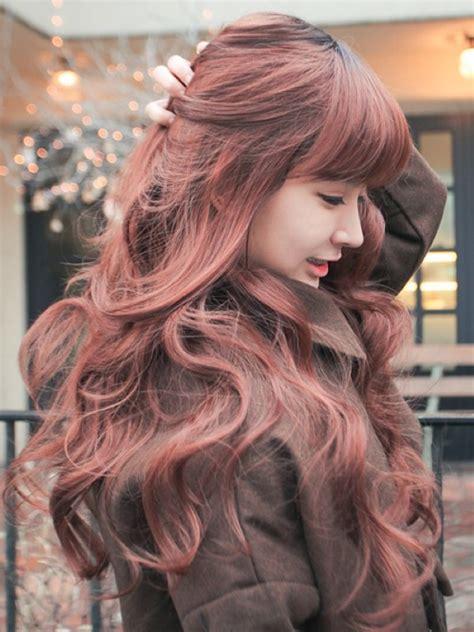 cute hair color for asian 30 auburn hair color styles