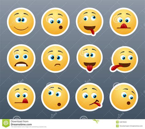 Kitchen Design For Small Area funny emoticons grimace stock illustration image 52876025