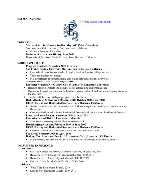 Ucsb Career Services Resume Critique by Ucsb Resume