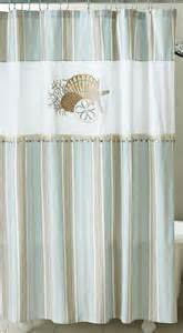 Sea Themed Curtains Decor By The Sea Shower Curtain Nautical Coastal Decor Fabric Shower Curtain