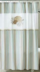 Curtain Fabric Decor By The Sea Shower Curtain Nautical Coastal Decor Fabric Shower Curtain Ebay
