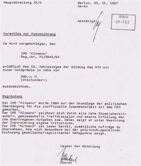 Word Vorlage Aktennotiz Merkur Alias Stasi Folteropfer Adam Lauks Entarnte Den