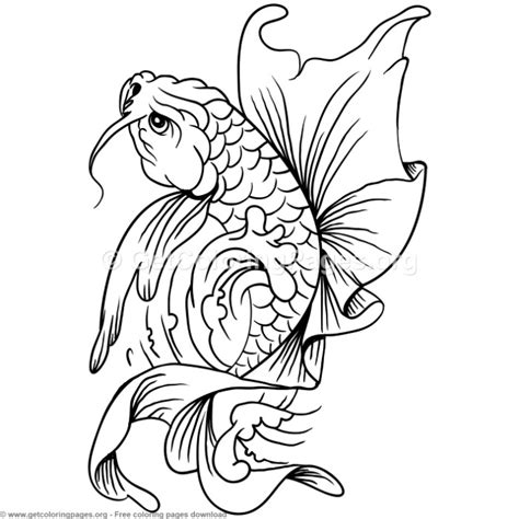 koi fish coloring pages 8 koi fish coloring pages getcoloringpages org