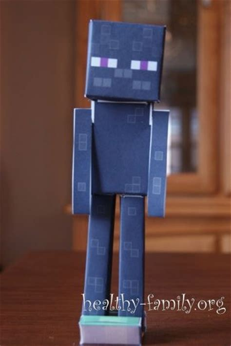 How To Make A Paper Enderman - 96 best minecraft ideas images on