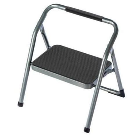 Home Depot Step Stool by Gorilla Ladders 1 Step Steel Step Stool Ladder Hb 1 The Home Depot