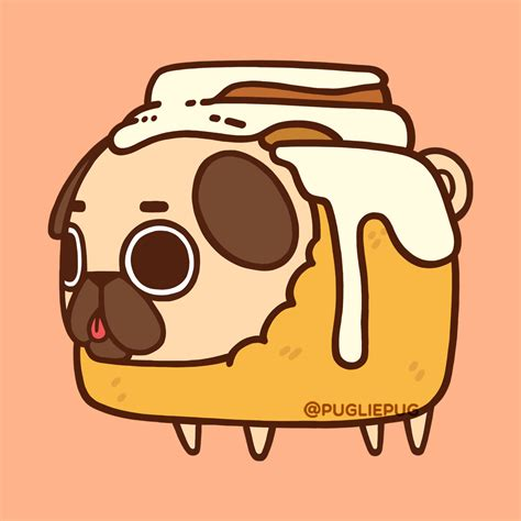 puglie pug food puglie pug mmmm who a warm cinnapug