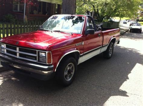 dodge dakota 2 door buy used 1990 dodge dakota sport convertible 2 door 3 9l