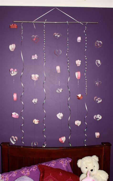 Handmade Door Decorations - craft hanging hearts wall door decoration