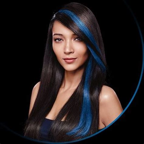 is streaking still popular on hair top 25 ideas about blue hair streaks on pinterest blue