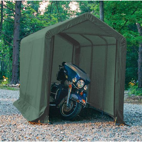 Motorcycle Shed Clarke Cis612 Instant Motorcycle Shelter Shed 6x12ft 187 Product