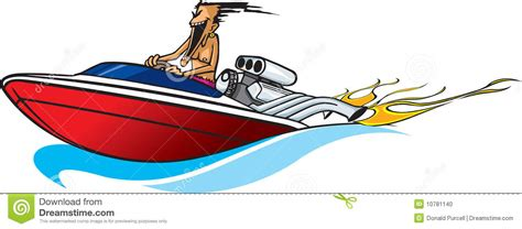cartoon girl on boat speed boat on water clipart clipground