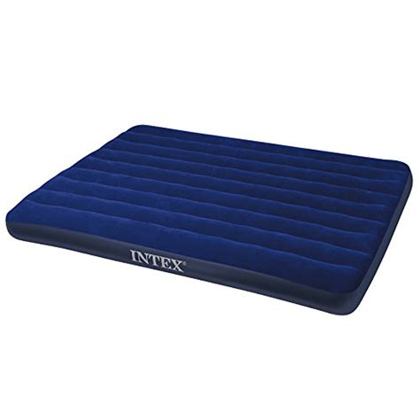 outdoor air bed air mattress intex inflatable downy queen sleeping bed