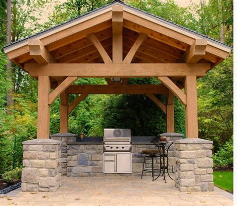 Gazebo With Built In Bar 1000 Images About Outdoors On Grill Gazebo