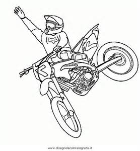 motocross immagini colouring pages
