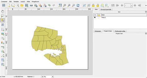 contoh layout peta tematik mengatur tilan layout peta menggunakan qgis 1 qgis