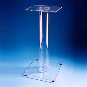 acrylic stand acrylic lecterns