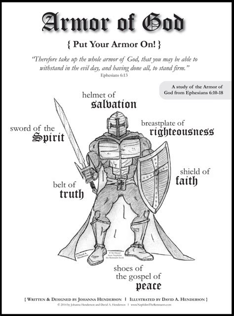 armoir of god coloring pages free printable armor of god coloring pages