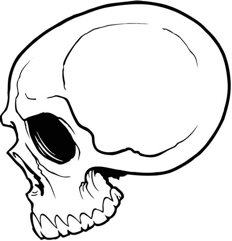 easy skull tattoo designs simple skull drawing search drawing to