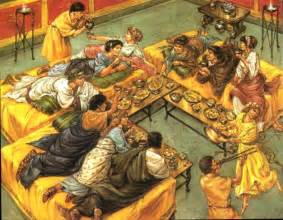 food feasts in ancient rome www historynotes info