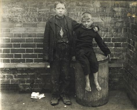 two poor boys from the east end c 1900 at museum of