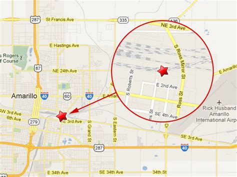 map of texas showing amarillo bnsf railroad worker killed in amarillo tx rail yard fela lawyer news