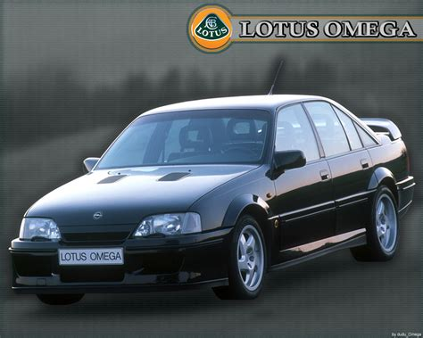 opel lotus omega technical details history photos on