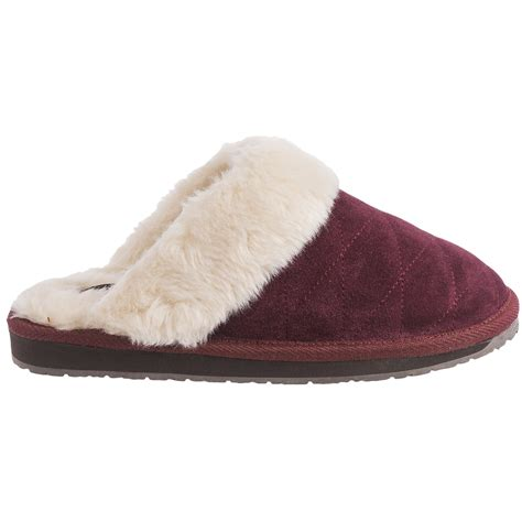 images for slippers clarks quilted scuff slippers for save 65