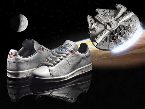 Gambar Starwars X Adidas wars x adidas stan smith millennium falcon available sneakernews