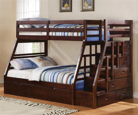 Trundle Bunk Bed With Storage Jason Bunk Bed With Storage And Trundle
