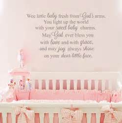 Nursery wall quotes baby girl quotes baby boy quotes