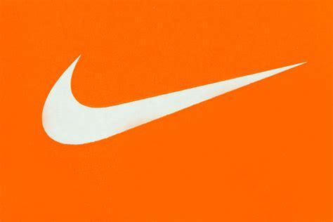 nike orange logo