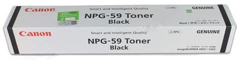 Toner Npg 59 canon toner npg 59