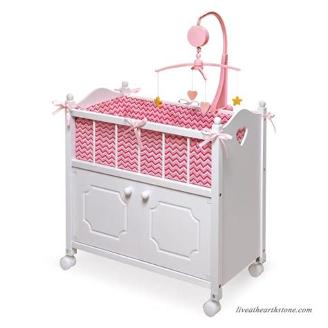 badger basket doll crib with cabinet badger basket gingham doll crib with cabinet bedding