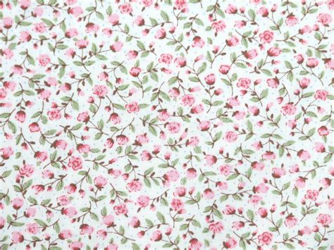 pure cotton fabric pink flower floral spot shabby chic patchwork dress bunting ebay