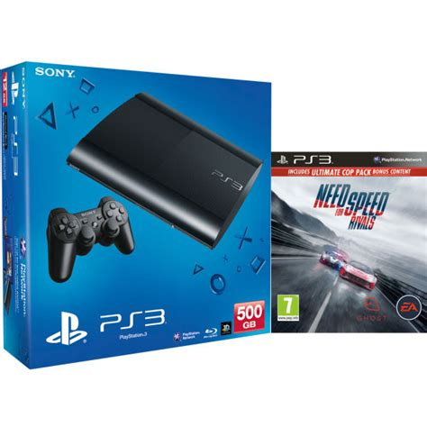 Dvd Original Playstation 3 Bluray Need For Speed ps3 new sony playstation 3 slim console 500 gb black includes need for speed rivals