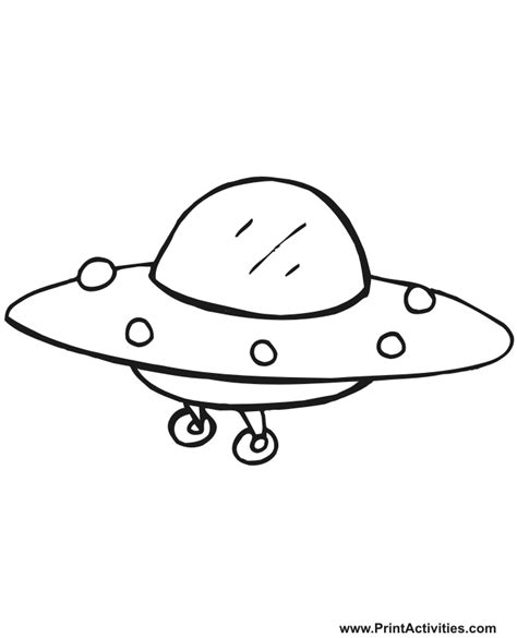 Ufo Coloring Book Pages | coloring pages for kids ufo coloring pages