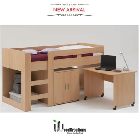 bunk beds with study table bunk bed with study table