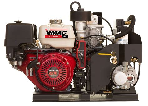 gas driven air compressors powered by honda made by vmac