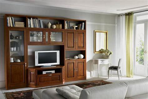 mobili da soggiorno classici mobile da soggiorno classico in pioppo