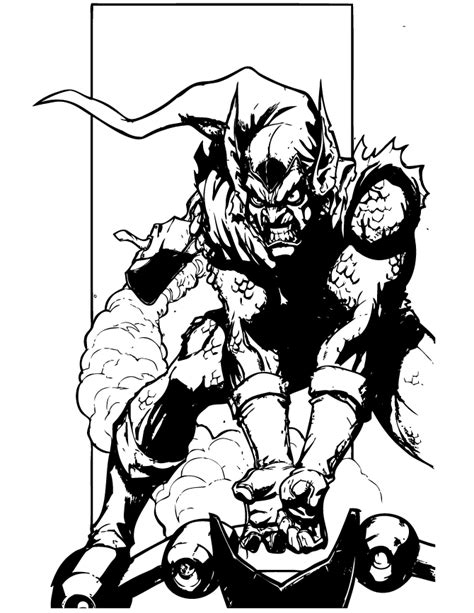 spider man bad guy coloring page h m coloring pages