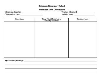 guided reading observation template reading coach observation form by the reading coach tpt