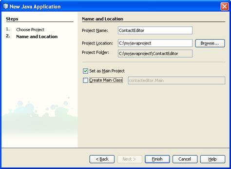 tutorial java desktop application how to tutorial on developing java dektop gui applications