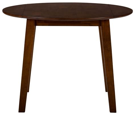 simplicity caramel extendable drop leaf dining table