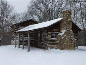 Winter Log Cabin Rentals Cabin In Winter Closeup