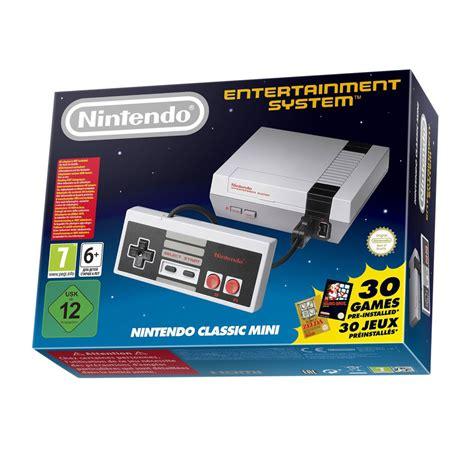 console nes nintendo classic mini nes petites consoles nintendo sur