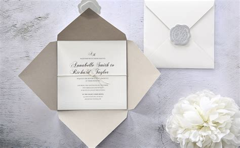 Handmade Invitations Uk - handmade wedding invitations personalised wedding cards