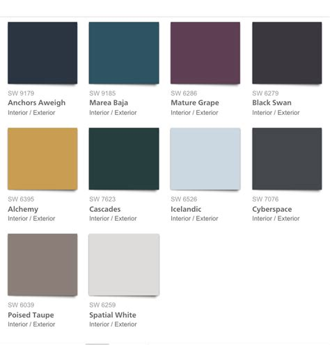 designer paint colors 2017 alluring 40 benjamin moore interior colors 2017 design